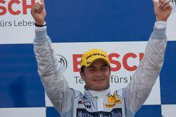 Podium: seconde place Bruno Spengler