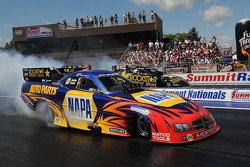Ron Capps (near lane), Jerry Tolliver