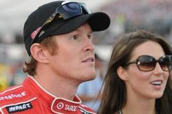 Scott Dixon with his wife Emma