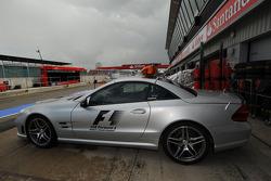 F1 Güvenlik Aracı pitlane