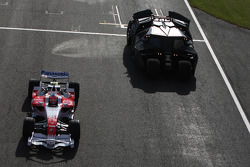 Timo Glock, Toyota F1 Team, driving,
