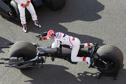 Timo Glock, Toyota F1 Team ve Jarno Trulli, Toyota Racing ve