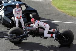 Timo Glock, Toyota F1 Team ve Jarno Trulli, Toyota Racing ve Batmobile ve Batbike