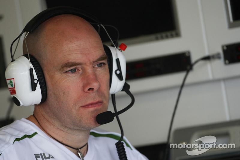 Jock Clear, Honda Racing F1 Team, ingeniero de Rubens Barrichello