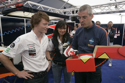 Алессандро Аллуни Брави, Trident Racing представляет Майка Конвея и его экипировку