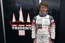 Mike Conway in his new race overalls