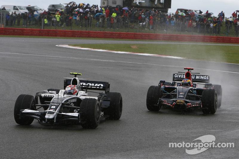 Kazuki Nakajima, Williams F1 Team, FW30 y Sébastien Bourdais, Scuderia Toro Rosso, STR03