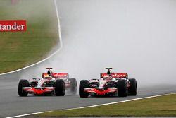 Льюис Хэмилтон, McLaren Mercedes, Хейкки Ковалайнен, McLaren Mercedes