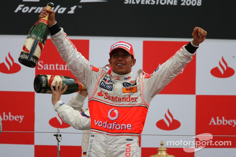 7- GP da Grã-Bretanha 2008, McLaren
