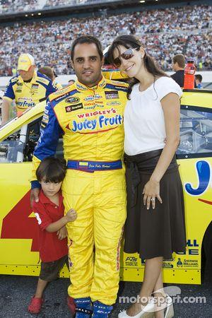Juan Pablo Montoya avec sa femme Connie