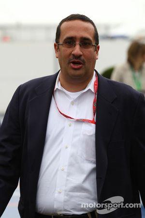 Muhammad Al Khalifa Presidente del circuito de Bahrein y accionista de McLaren