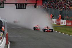 Heikki Kovalainen, McLaren Mercedes, Lewis Hamilton, McLaren Mercedes