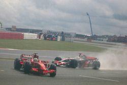 Felipe Massa, Scuderia Ferrari, F2008 spins