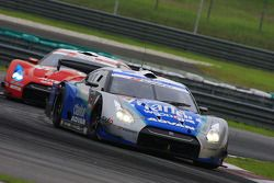 Seiji Ara of Kondo Racing took the lead