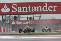Giorgio Pantano leads Mike Conway