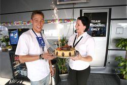 Allan Simonsen celebrates birthday