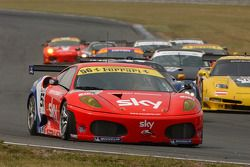#56 CR Scuderia Ferrari F430: Andrew Kirkaldy, Rob Bell