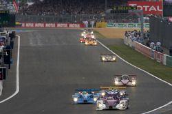 #34 Van Merksteijn Motorsport Porsche RS Spyder: Jos Verstappen, Peter Van Merksteijn, Jeroen Bleeke