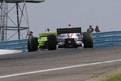 Ed Carpenter leads his teammate A.J. Foyt IV