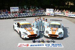 #007 Aston Martin Racing Aston Martin DBR9: Heinz-Harald Frentzen, Andrea Piccini, Karl Wendlinger,