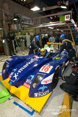 #18 Rollcentre Racing Pescarolo Judd: Vanina Ickx, Stephan Gregoire, Joao Barbosa