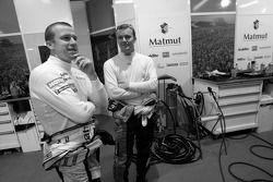 Oliver Panis and Marcel Fassler