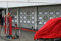 Closed doors at Ferrari