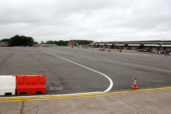 Donington Park circuit overview