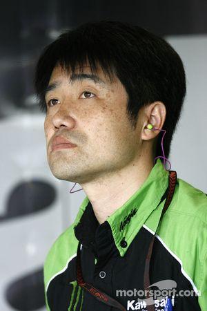 Líder del proyecto MotoGP de Kawasaki, Yoshimoto Matsuda