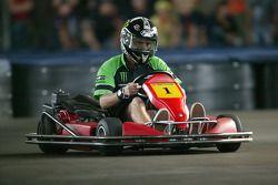 La carrera de go-kart de Sachsenring: Anthony West