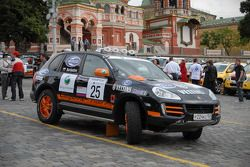 Inteko Porsche Cayenne S Transsyberia : Fedor Fedorov et Mikhail Bardashov