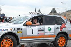 #1 Team USA Porsche Cayenne S Transsyberia: Ryan Millen and Colin Godby