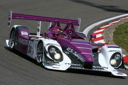 The Porsche RS Spyder of Van Merksteijn Motorsport, that won the LMP2 class at the 2008 Le Mans, driven by Paul van Splunteren