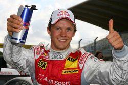 Pole position for Mattias Ekström, Audi Sport Team Abt Sportsline