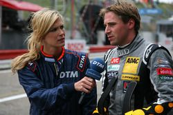Christijan Albers, TME, made into the the second part of qualifying but opted to save tyres for the