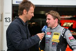Christijan Albers, TME, being interviewed for TV