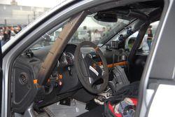 Inside the car of Ryan Millen