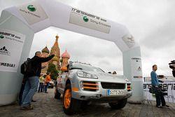 #1 Team USA Porsche Cayenne S Transsyberia: Ryan Millen et Colin Godby