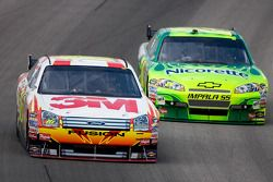 Greg Biffle y Jeff Gordon