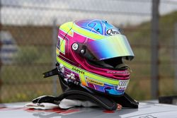 Helmet of Oliver Jarvis, Audi Sport Team Phoenix, Audi A4 DTM