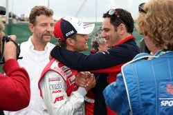 Timo Scheider, Audi Sport Team Abt, Audi A4 DTM with Hans-Jurgen Abt, Teamchef Abt-Audi