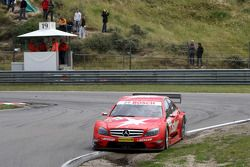Gary Paffett, Persson Motorsport AMG Mercedes, AMG-Mercedes C-Klasse going a bit off track in the Audi S corner