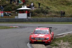 Gary Paffett, Persson Motorsport AMG Mercedes, AMG-Mercedes C-Klasse going a bit off track in the Au