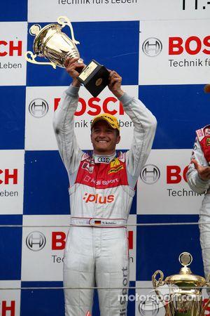Podium: second place Timo Scheider