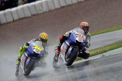 Jorge Lorenzo and Valentino Rossi