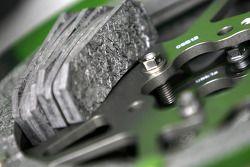 Discos de carbón y los cojines de la máquina de Kawasaki Ninja ZX-RR MotoGP