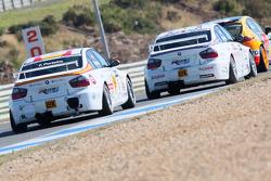 Felix Porteiro, BMW Team Italy-Spain, BMW 320si and Andy Priaulx, BMW Team UK, BMW 320si WTCC