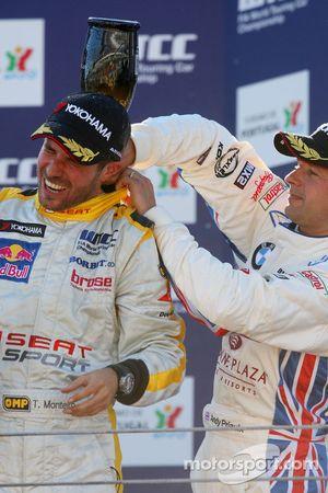 Tiago Monteiro e Andy Priaulx