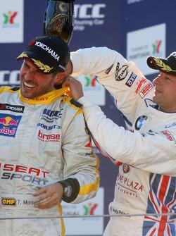 Tiago Monteiro and Andy Priaulx
