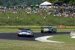 #007 Drayson - Barwell Aston Martin Vantage: Paul Drayson, Jonny Cocker, #008 Bell Motorsports Aston